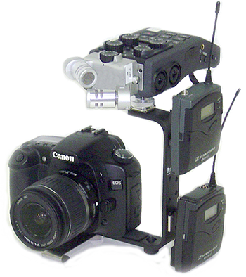 Multi-Shoe Bracket for DSLR Accessories