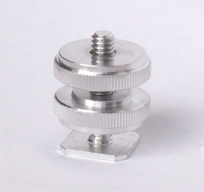Threaded Cold Shoe Adapter