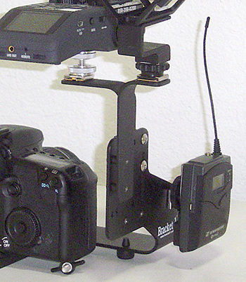 Mounting for Over Camera Cold Shoes