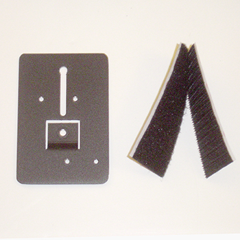 Velcro Pad to Universal Mounting Plate