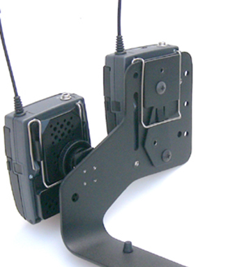 Back View of 2 EW100 Mounted on EWClip & Cold Shoe1